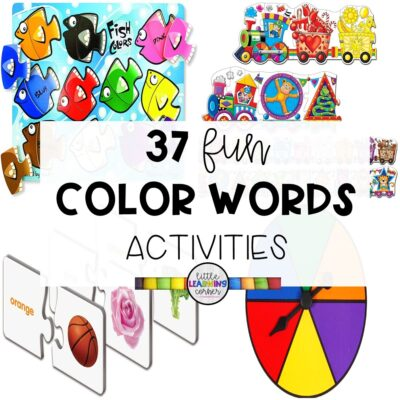 37 Fun Activities for Teaching Color Words