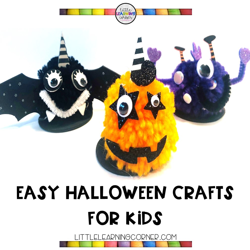halloween-crafts-for-kids-pom-poms