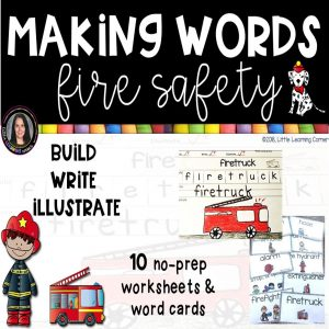 making-words-fire-safety-writing-center-cover