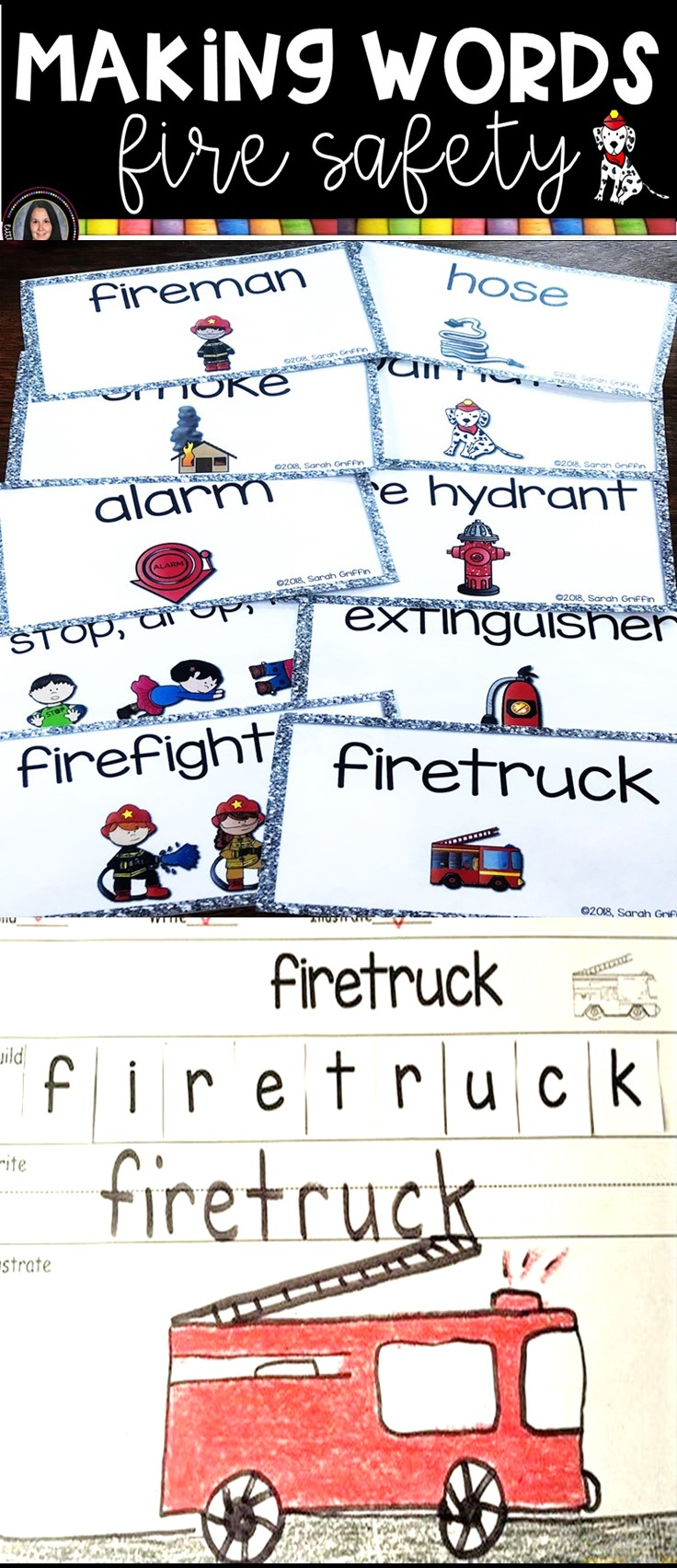 making-words-fire-safety-writing-center-pin