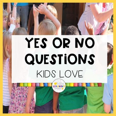 75 Yes or No Questions Kids Love
