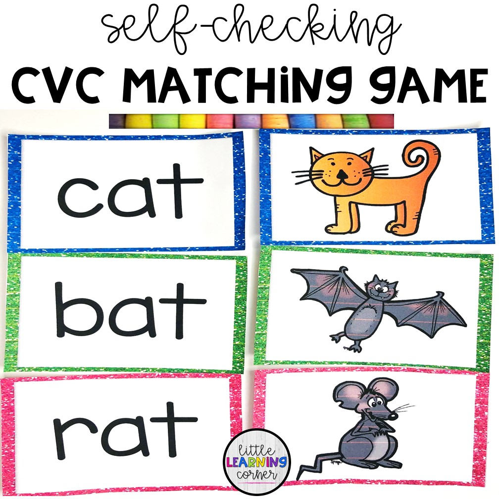 cvc-word-family-worksheets