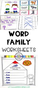 word-families-worksheets-pin