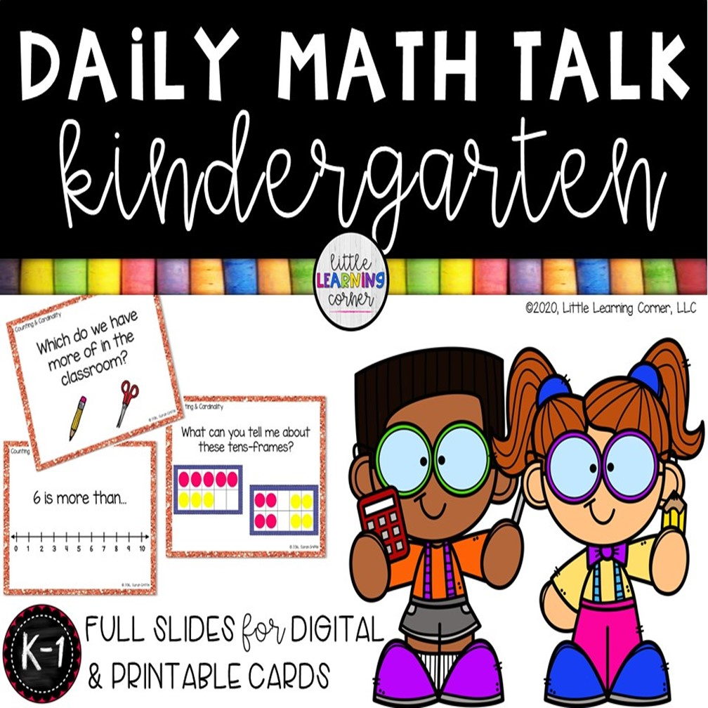 Daily Math Talk Kindergarten