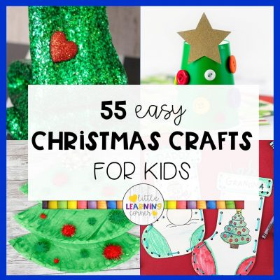 55 Easy Christmas Crafts for Kids