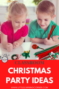classroom-christmas-party-ideas-pipe-cleaner-crafts