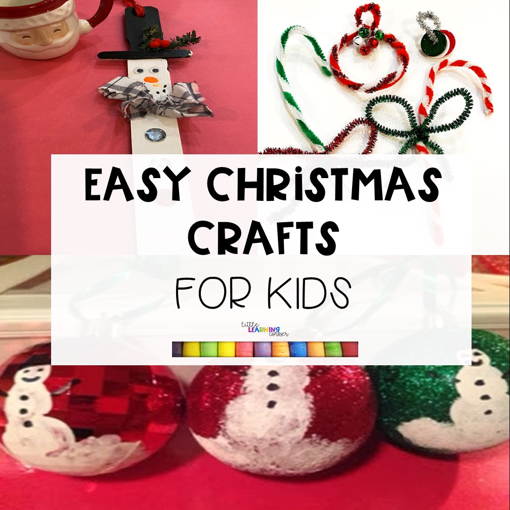 10 Easy Christmas Crafts for Kids