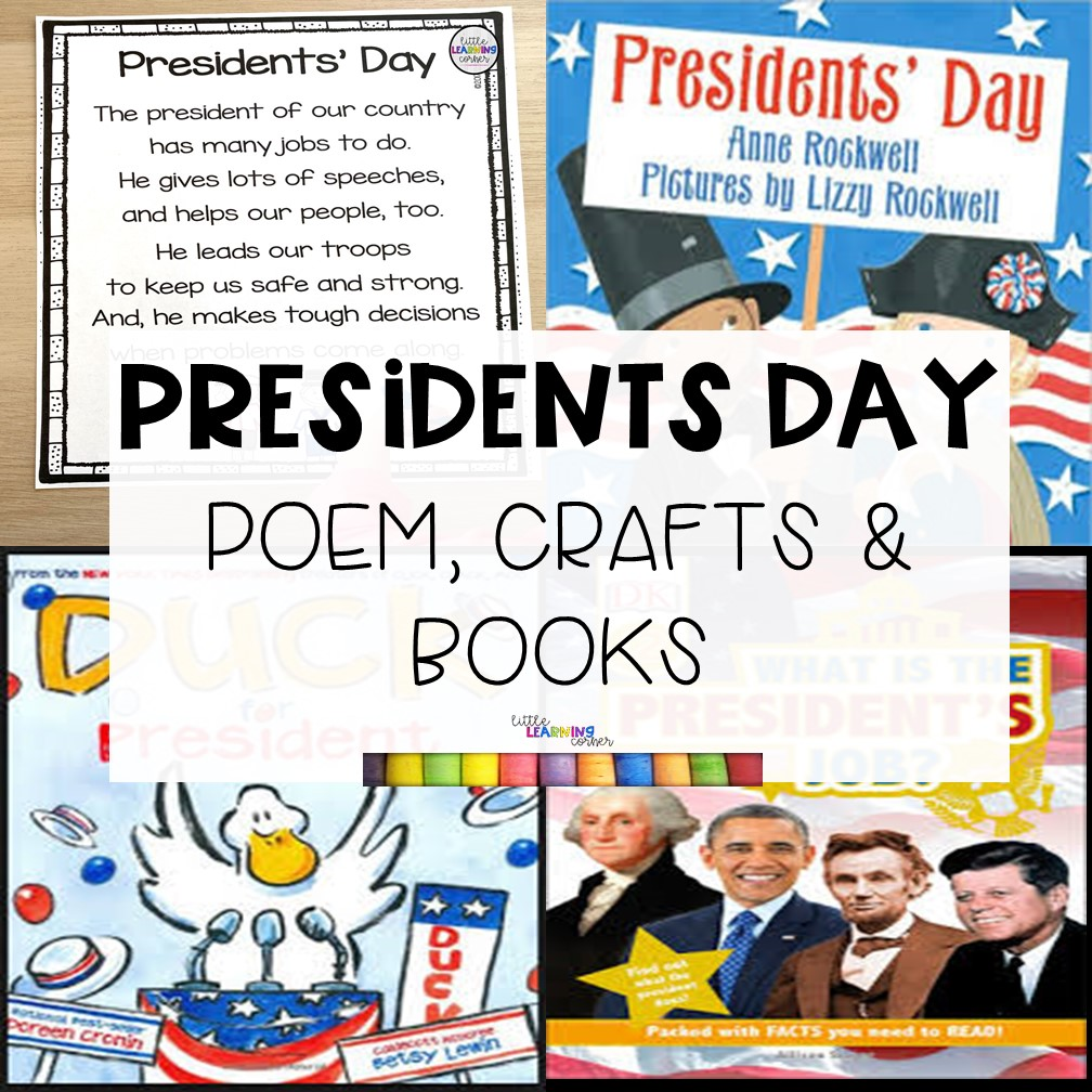 The Best Presidents Day Poem, Crafts, and Books for Kids