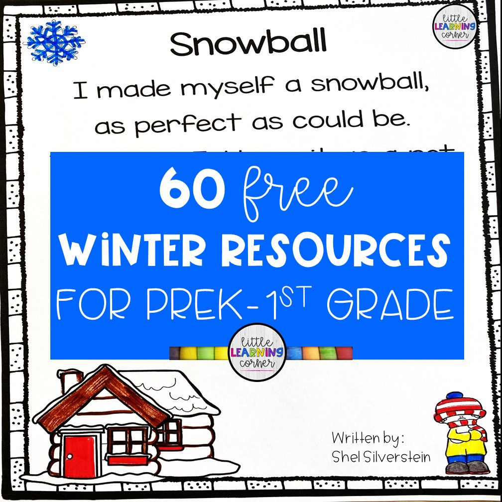 60 Free Printable Worksheets for Preschool, Kindergarten, and First Grade