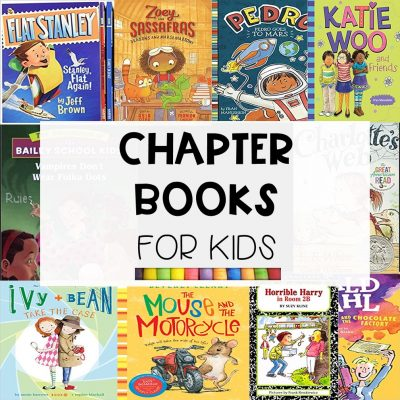 16 Favorite Chapter Books for Kids