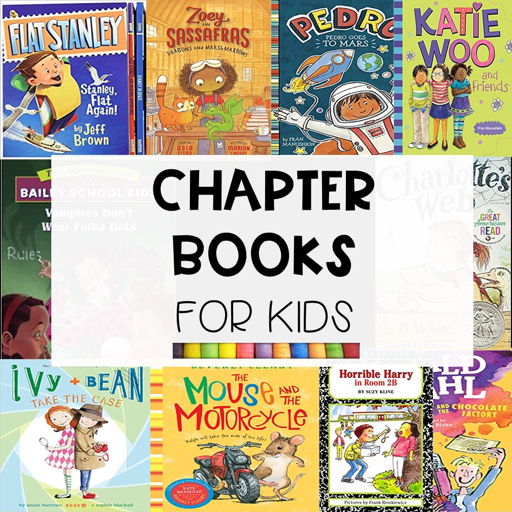 91 Polular Chapter Books for Kids