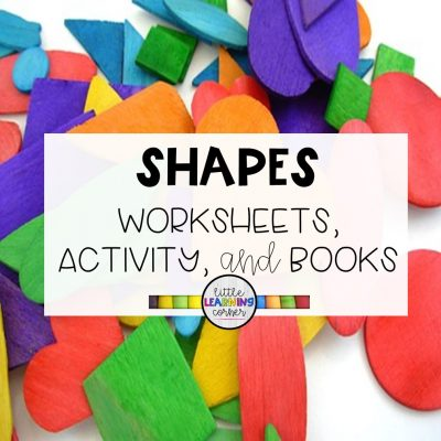15 Fun Shape Worksheets, Books, and Activities Kids Love