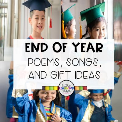 6 End of the Year Songs for School (K-2)