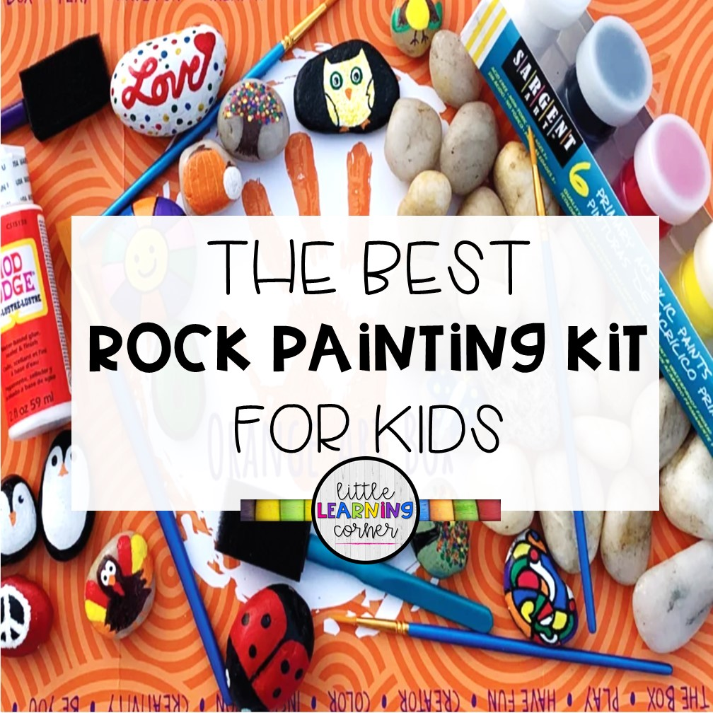 The Best Rock Painting Kit for Kids