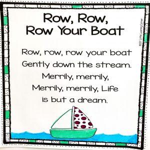 row-row-your-boat-nursery-rhymes