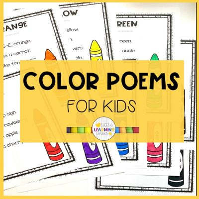 The Best Color Poems for Kids