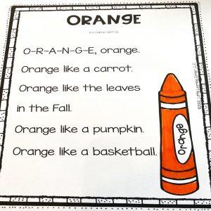 orange-color-poems