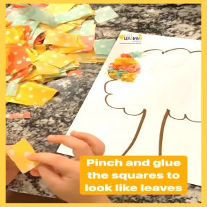 fall-tree-craft-for-kids-tissue-paper-2