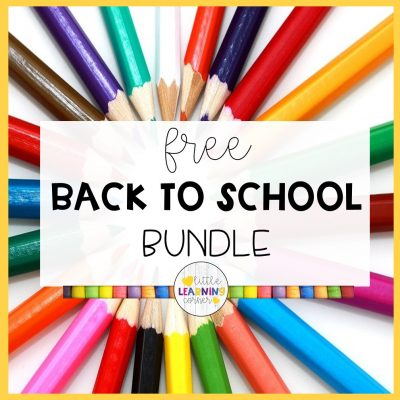 91 Free Back to School Resources