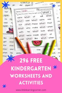 worksheets-for-kindergarten-pin-2