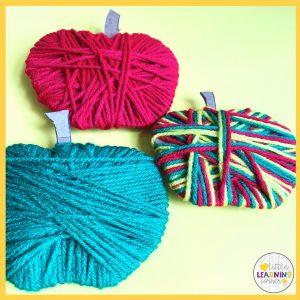 yarn-apple-craft-for-kids-little-learning-corner