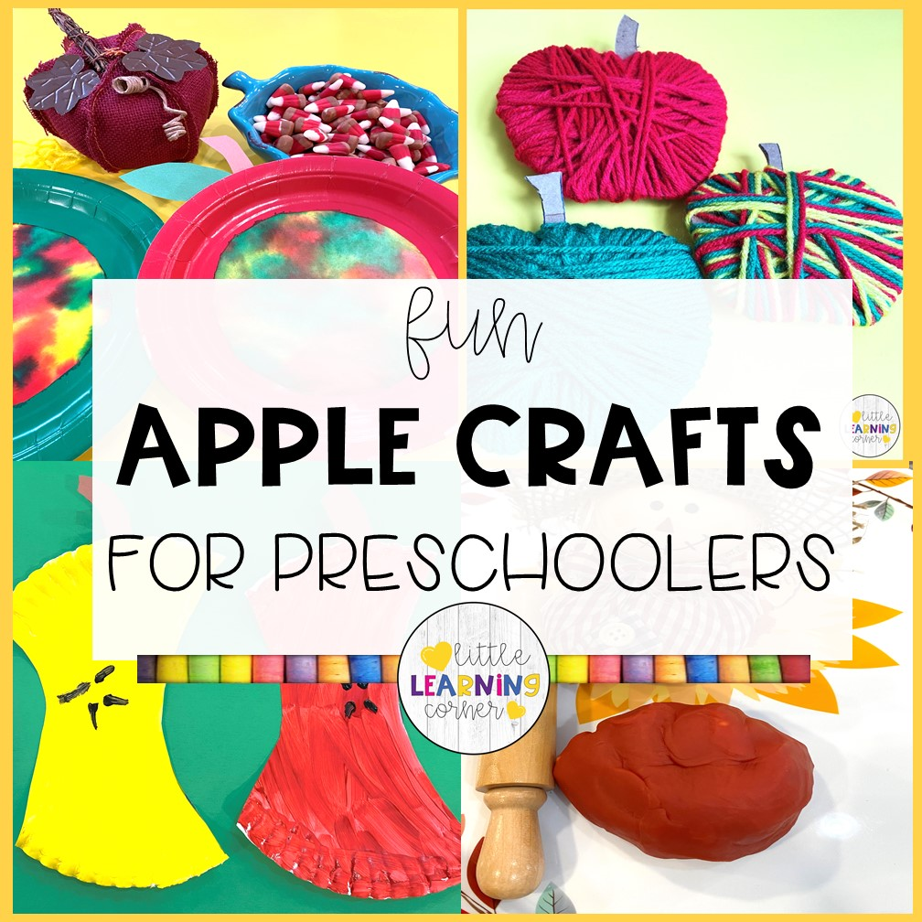 Fun and Easy Apple Crafts for Preschoolers