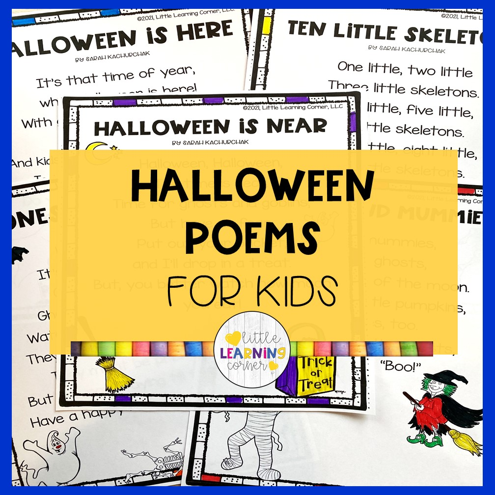 15 Scary and Funny Halloween Poems for Kids