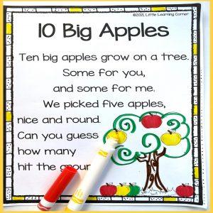 ten-big-apples-poem-for-kids-colored