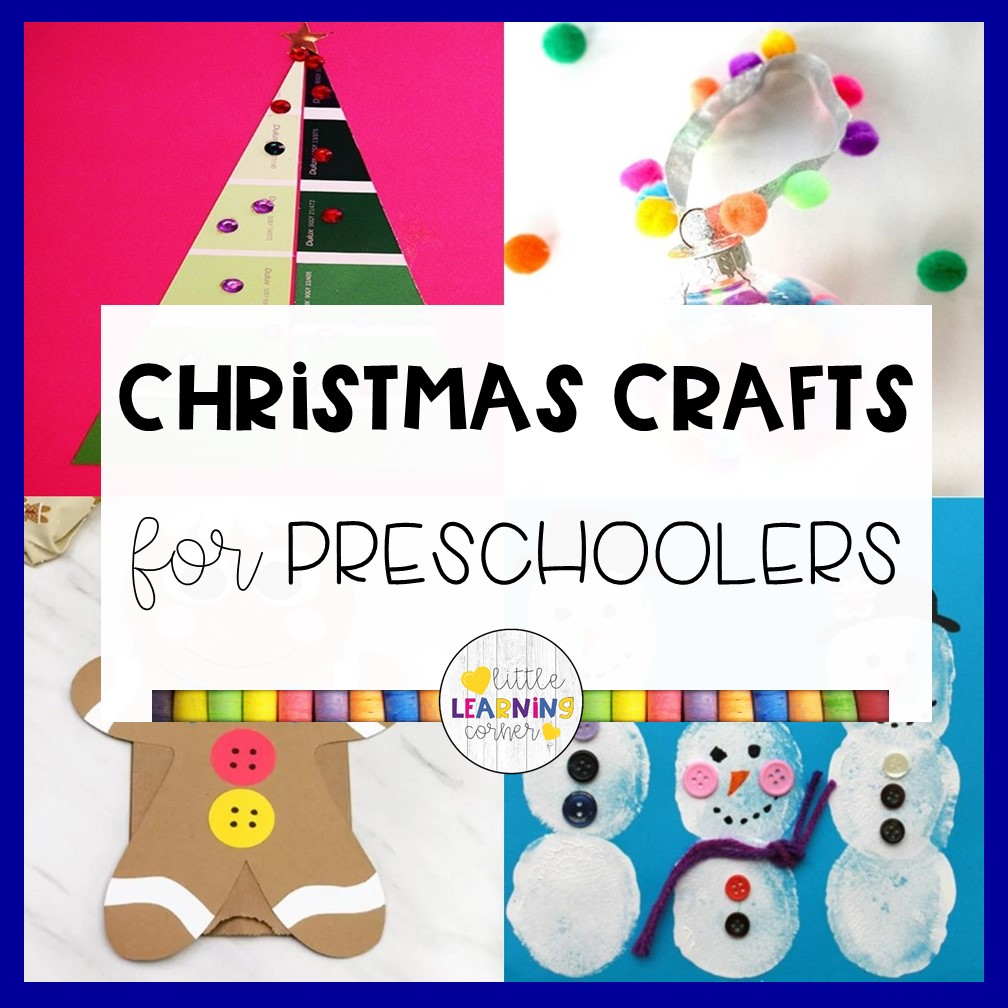 50 Easy Christmas Crafts for 4 Year Olds