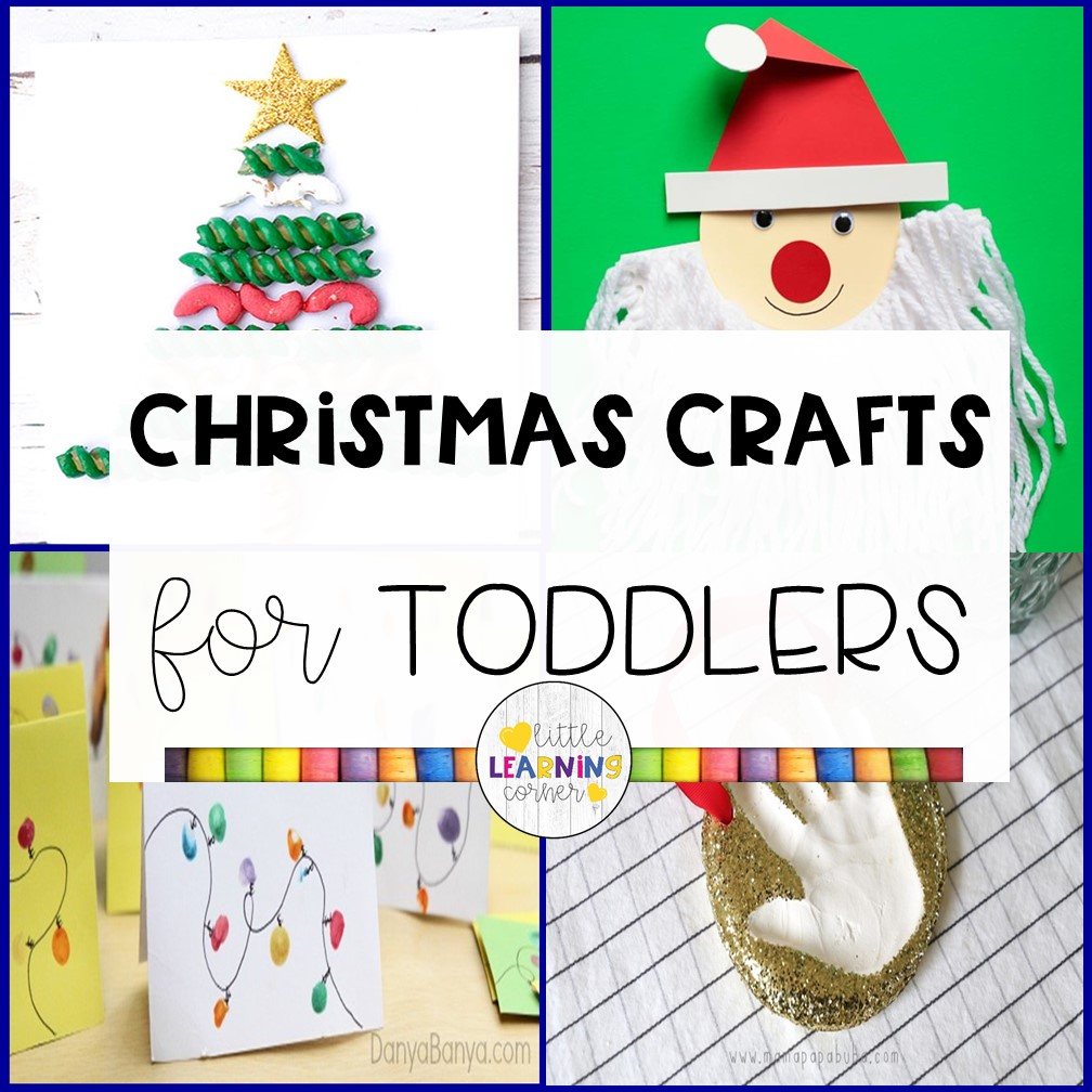 50 Easy Christmas Crafts for Toddlers